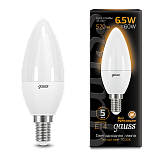 Лампа Gauss LED Candle E14 6.5W 3000К 103101107