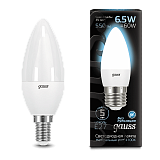 Лампа Gauss LED Candle E14 6.5W 4100К 103101207